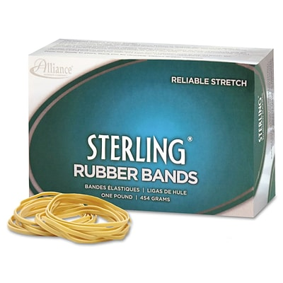 Universal Boxed Rubber Bands, Size 105, 5 x 5/8, 1 lb. Box