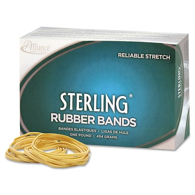 Alliance® Sterling® #31 (2-1/2 x 1/8) Rubber Bands; 1 lb. Box