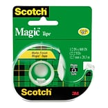 Scotch® 1/2 x 800 Magic™ Tape; Matte, 1 Roll