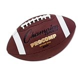 Champion Sports 22 Dia Pro Composite Football; Brown