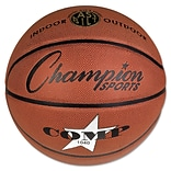 Champion Sports 27 3/4 Dia Composite Basketball; Brown
