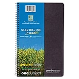 Roaring Spring Environotes BioBased Earthtones 1-Subject Notebook, 6 x 9.5, College Ruled, 80 Shee