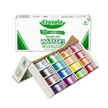 Crayola® Classpack® Non-Washable Markers, Broad Tip, Assorted Colors, 256/Box (58-2801)