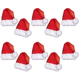 Beistle 5 Mini Santa Hat Cutouts, 50/Pack