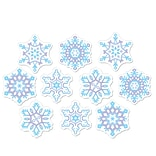 Beistle Mini Snowflake Cutouts
