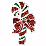Beistle Prismatic Candy Cane Cutout