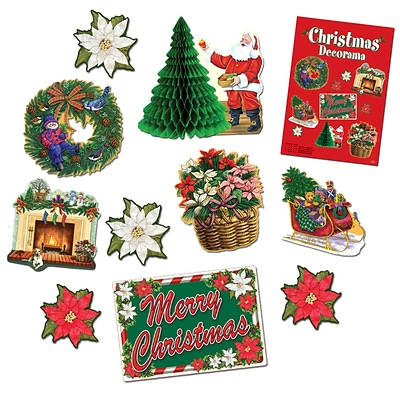 Beistle Christmas Decorative Kit