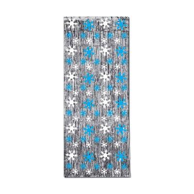 Beistle 8'x3' Snowflake 1 Ply Glm N