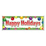 Beistle 5x21 Happy Holidays Sign Banner