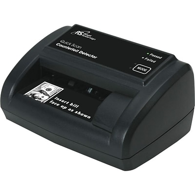 Royal Sovereign® RCD2120 Quick Scan Counterfeit Detector; Black