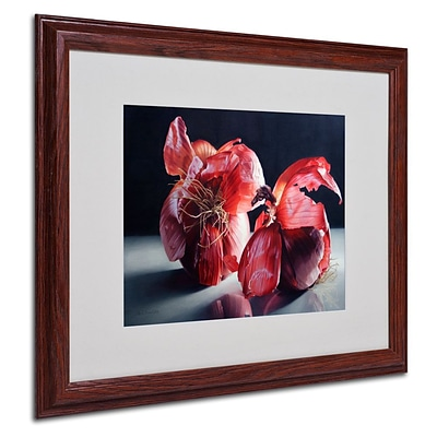 Trademark Fine Art Beauty So Deep It Makes You 16 x 20 Wood Frame Art