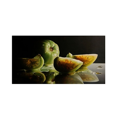 Trademark Fine Art Ripening 10 x 19 Canvas Art