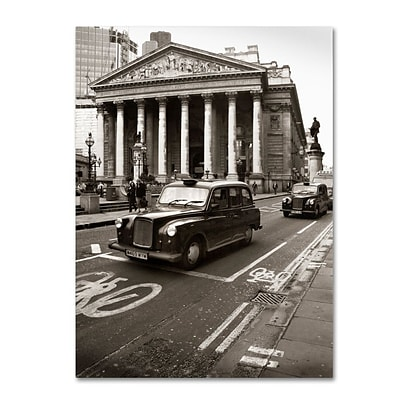 Trademark Fine Art London Exchange 18 x 24 Canvas Art