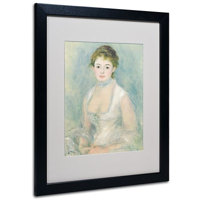 Trademark Fine Art Madame Henriot 1876 16 x 20 Black Frame Art