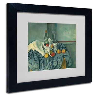 Trademark Fine Art The Peppermint Bottle 11 x 14 Black Frame Art