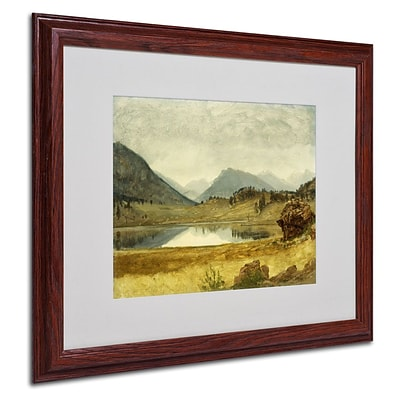 Trademark Fine Art Wind River Country 16 x 20 Wood Frame Art