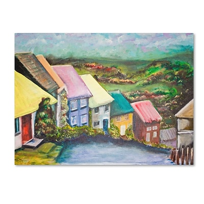 Trademark Fine Art English Countryside 14 x 19 Canvas Art