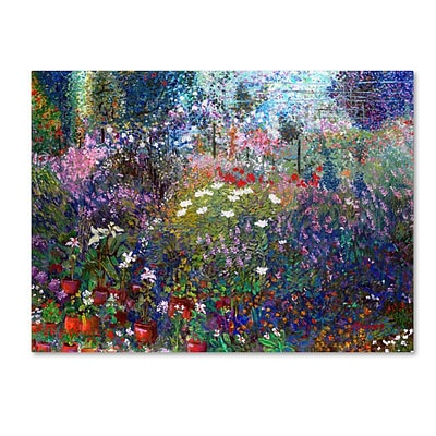 Trademark Fine Art Garden In Maui II 24 x 32 Canvas Art