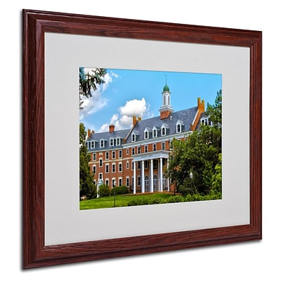 Trademark Fine Art Graduate School 16 x 20 Wood Frame Art