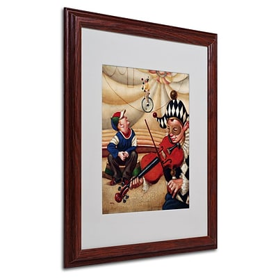 Trademark Fine Art Calandurim 16 x 20 Wood Frame Art