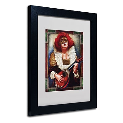 Trademark Fine Art Lady of Laudes 11 x 14 Wood Frame Art