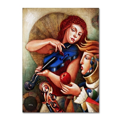 Trademark Fine Art Seduccion 24 x 32 Canvas Art