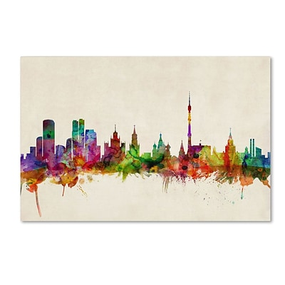 Trademark Fine Art Moscow, Russia 22 x 32 Canvas Art