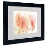 Trademark Fine Art Coral Composition 11 x 14 Black Frame Art