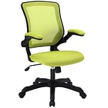 Modway Veer Mesh Fabric High Back Office Chair, Green