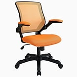 Modway Veer Mesh Fabric High Back Office Chair; Orange