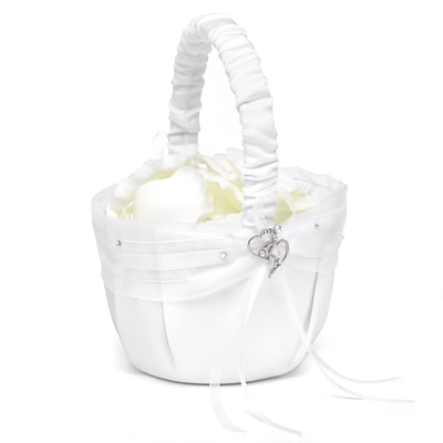 HBH™ Heartfelt Whimsy Basket, White