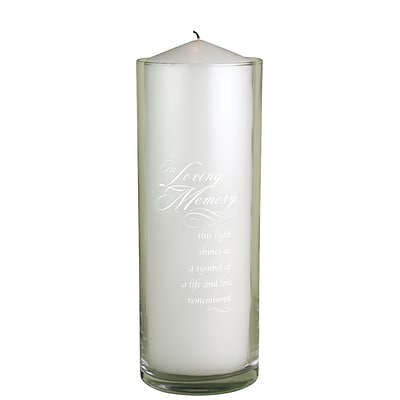 HBH™ In Loving Memory Cylinder, Clear
