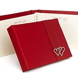 HBH™ With All My Heart Guest Book, Claret