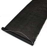 HBH™ Aisle Runner With Pull Cord, 36 x 100, Black