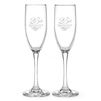 HBH™ 25th Anniversary Flourish Flutes, Clear