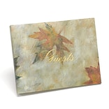 HBH™ Maple Leaf Guest Book, Ivory