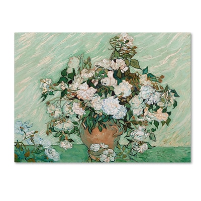 Trademark Fine Art Roses 1890 24 x 32 Canvas Art