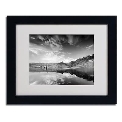 Trademark Fine Art Beyond the Sky 11 x 14 Black Frame Art