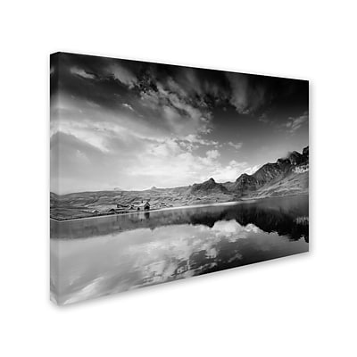 Trademark Fine Art Beyond the Grey Sky 14 x 19 Canvas Art