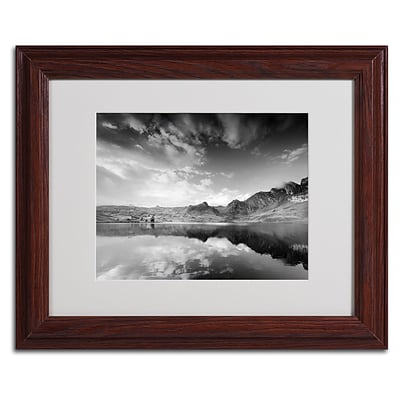 Trademark Fine Art Beyond the Sky 11 x 14 Wood Frame Art