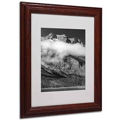 Trademark Fine Art Last Call Switzerl 11 x 14 Wood Frame Art