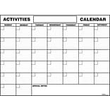 S&S® 37 x 49 Paper Activity Calendars, 12/Pack