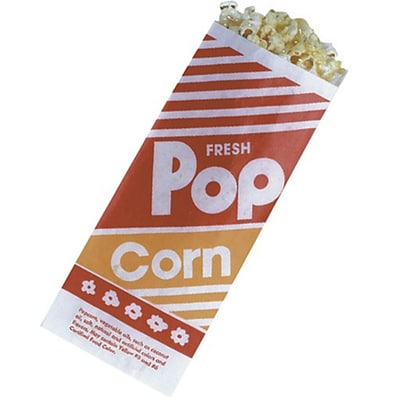 S&S® Popcorn Bags, 1 oz., 1000/Pack