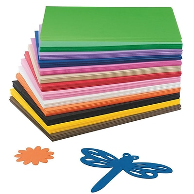 S&S® 9 x 12 EVA Foam Sheet, Assorted