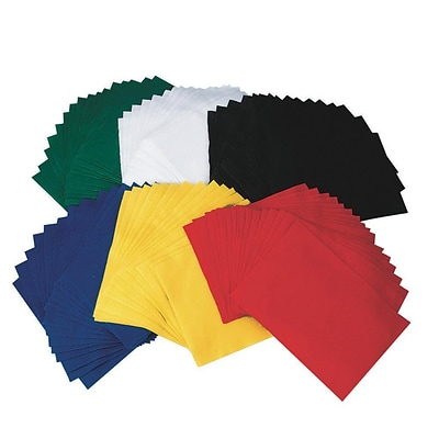 S&S® 9 x 12 Felt Sheets, Assorted, 96/Pack