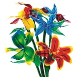 Geeperz™ Flexible Fun Flowers Craft Kit, 24/Pack