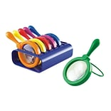 Learning Resources® Primary Science Jumbo Magnifiers With Stand, Grades PreK and Up