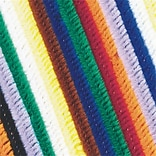 S&S® 12L x 6 mm Chenille Stems, Assorted