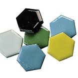 S&S® 1 Hexagon Shape Mosaic Tile, 5 lbs., 320/Pack