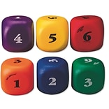 Gator Skin® Die-a-ball-ical Dice Balls, 7, Assorted, 6/Set